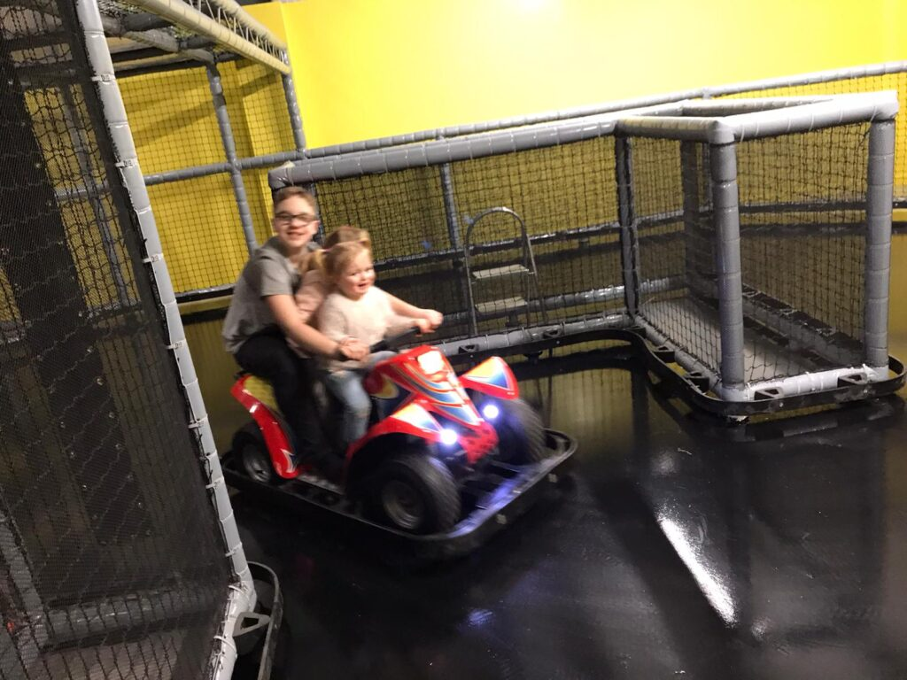 Laughing Ducks Go-Carting